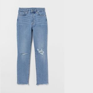 H&M Ripped Mom Jeans